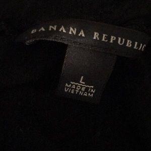 Banana Republic Tops - 3/4 sleeve black top.